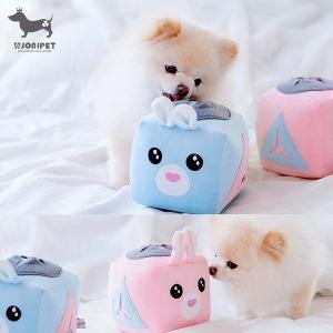 조우니 강아지 노즈워크 인형 장난감 킁킁볼 간식공