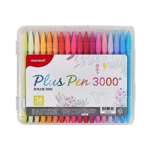 모나미 프러스펜3000 36색 수성펜 사인펜