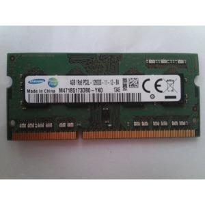 삼성 4g PC3L-12800S DDR3 1Rx8 노트북 메모리 중고
