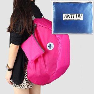 휴대용 접이식 여행 배낭 가방-포켓 백팩 해외 용품