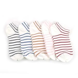 여자 잔링글 발목 양말 5색혼합 10켤레