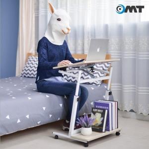 OMT 이동식 원목 노트북 테이블 책상 침대 ONA-5X64