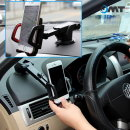 OMT 차량용 길이조절 휴대폰 거치대 OSA-JBC 그레이