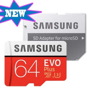 갤럭시노트8 외장메모리 EVO PLUS MICROSD 64GB 4K