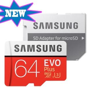 갤럭시S7엣지 외장메모리 EVO PLUS MICRO SD 64GB U3