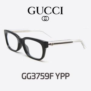 구찌 안경 GUCCI 안경 GG3759F YPP 뿔테안경 2018신상