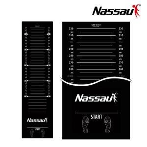 낫소 제자리 멀리뛰기 매트(NSC-A101) 블랙 3.6mx1m