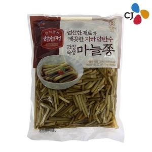 CJ 하선정 간장숙성 마늘쫑 1kg