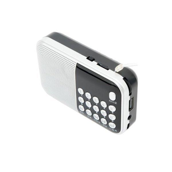 휴대용 효도스피커 MP3 캠핑 등산용 소형라디오/mN7N