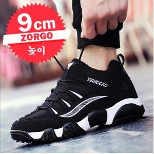 2018 남성 키높이 운동화 스니커즈 캐쥬얼남자 신발