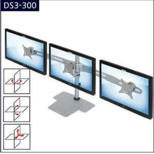 LCD모니터거치대[DS3-300] 모니터브라켓/LCD암/모니터암/모니터받침대24