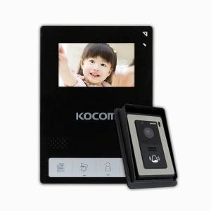 KCV-434B 4선식 컬러비디오폰 현관카메라+선바이저