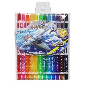 12색 슬라이더색연필 /색연필 미술준비물 신학기행사