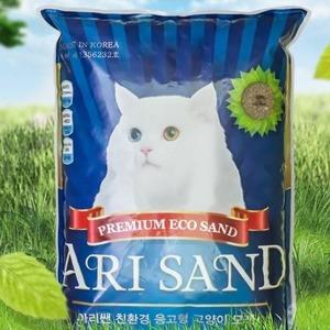 고양이모래 응고모래 응고력탈취력강화 사막화방지 6kg