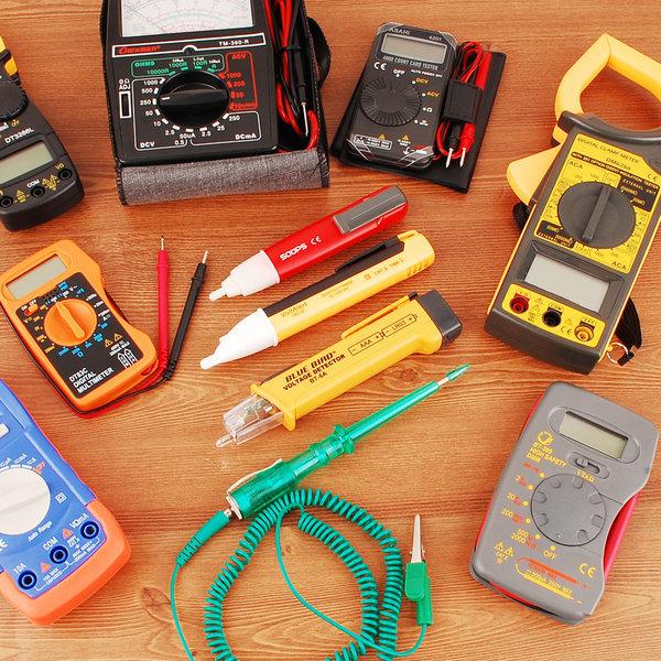 테스터기 테스터 멀티 측정 포켓 공구 측정기 전압 저