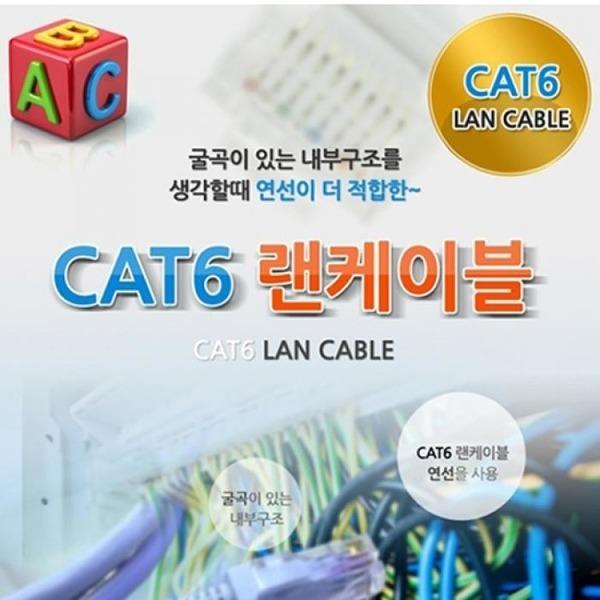 CAT6 UTP 랜케이블 2M