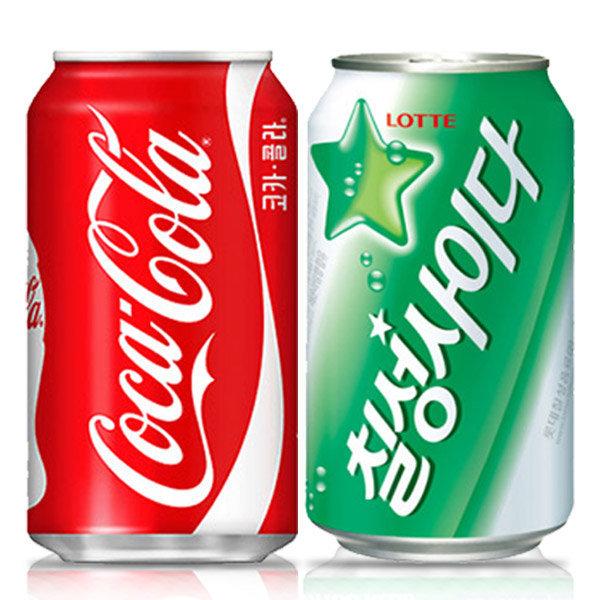 코카콜라 355mlx24캔 사이다/스프라이트/음료수/뚱캔