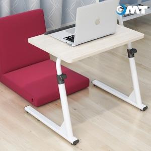 OMT 접이식 노트북 테이블 ONA-S1 높이각도조절 화이트