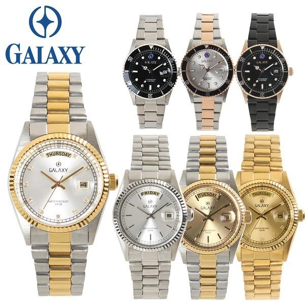 [Orient] 오리엔트 갤럭시 50m방수 남성  메탈손목시계