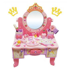 들딸기 왕관 화장대 소꿉놀이 세트