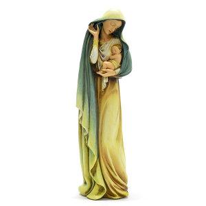 가톨릭 성물 아기예수와 성모님