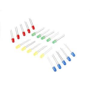 아두이노 LED 3파이 3MM  색상선택 20개