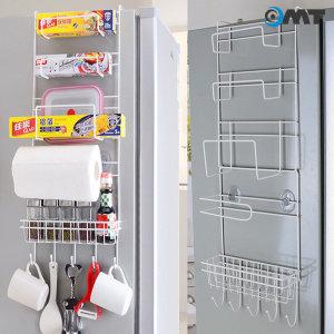 OMT 냉장고 사이드 수납 걸이 주방 선반  OKA-MRACK