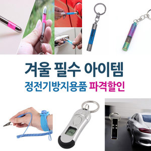 정전기차단/정전기방지/열쇠고리/차량용품/키홀더