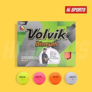 볼빅정품 비스무스 골프공 3피스 12구 로고인쇄