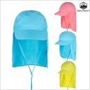 UV 플랩캡 뉴솔리드/물놀이모자/아동 모자/유아 모자
