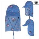 UV 플랩캡 샤크/물놀이모자/아동 모자/유아 모자