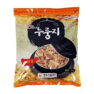 한도식품 맛나 누룽지 3kg 국내산 쌀 100% HACCP 인증
