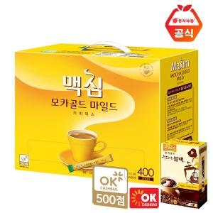 맥심모카골드 커피믹스 400T+20T/화이트골드