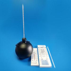 (종로)흑구온도계/열복사량측정/군부대에서 많이 사용