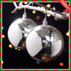 크리스마스장식볼 10cm 2개 유광볼 트리장식 트리소품