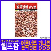 헬프팜 얼룩넝쿨 강낭콩씨 30g 아람종묘 종자 씨앗