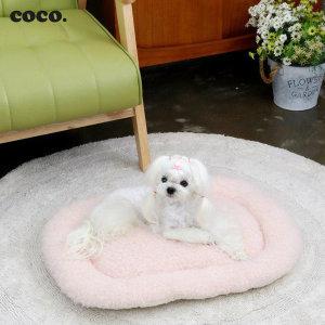Coco. 뽀글이 강아지 고양이 방석 / 국내 제작 - 상품 이미지