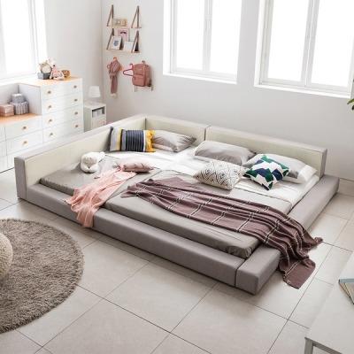 [아씨방] 아씨방가구 1+1 저상형 침대/패밀리침대(매트포함)