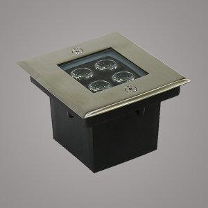 정사각 방수 지중등/LED파워4W/최저가/매입등/외부등