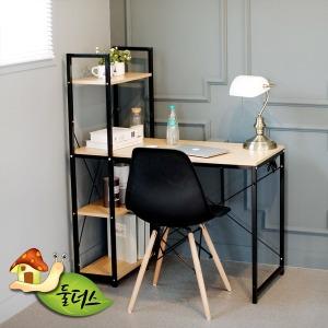심플한 컴퓨터용 조립형 책상 이지심플컴퓨터책상100