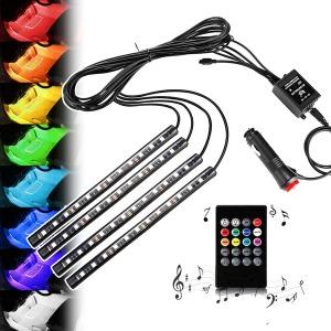 자동차 풋등 RGB LED바_차량용 용품/실내무드등