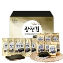 늘품애광천혼합세트(선물세트) 전장김5봉+도시락김8봉