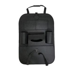 차량용 시트 파우치(블랙) 차량 시트 뒷자석 수납포켓