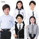 주니어흰색남방셔츠 아동정장 남아정장 초등학생남방