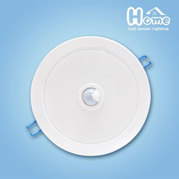 홈룩스 LED 매입형 센서등 개발 신상품 디밍용 매입등