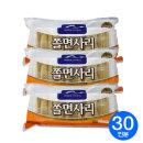 (냉동)면사랑 쫄면사리 2kgX3개/쫄면/쫄면사리