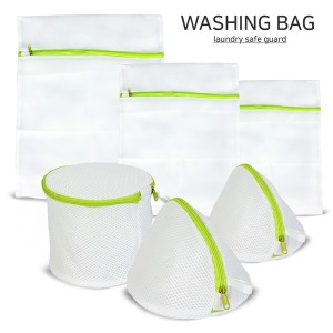 원형+사각세탁망 6종세트/빨래망/속옷세탁망