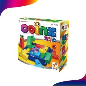 코잉스 보드게임 블록 1인용 퍼즐 학습 교육