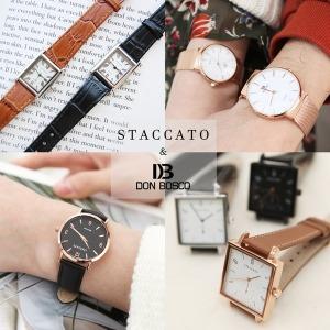정품 스타카토/손목시계/패션시계/커플시계/여자시계