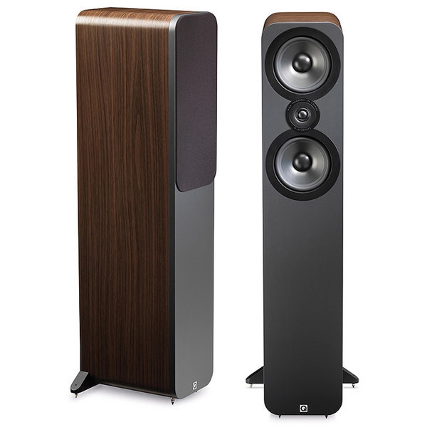 AV  Q Acoustics Q어쿠스틱 3050 톨보이 월넛칼라